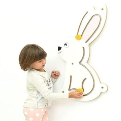 Bunny Sensory Wall Panel,Special Needs wall panel Toys, Sensory equipment, Special needs equipment, Sensory room equipment, developmental environment setting, wall activity panels, wall hanging activities, sen learning, sensory education, special educational needs
